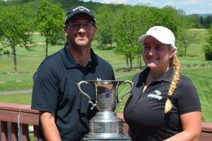 Chernosky And Maertz Easily Win Mixed Pinehurst Championship