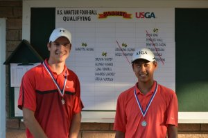 N.j Native Huang & Partner Advances To U.S. Four-ball Championship