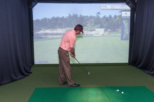 Somerset County Offers Golf Simulator At Neshanic Valley