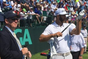 'Now On The Tee....'  NJSGA's Kevin Purcell Enjoys Time As U.S. Open Practice Starter