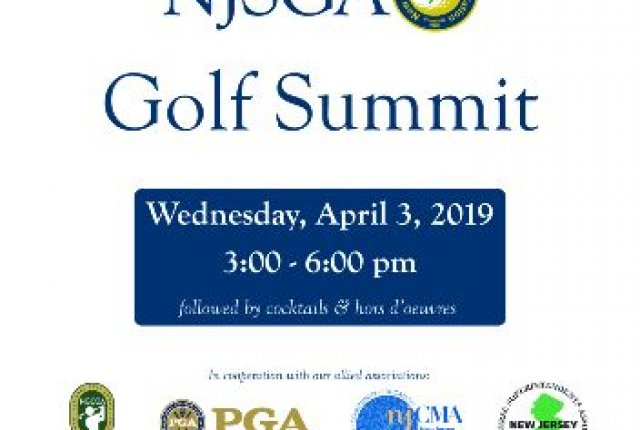 2019 NJSGA Golf Summit