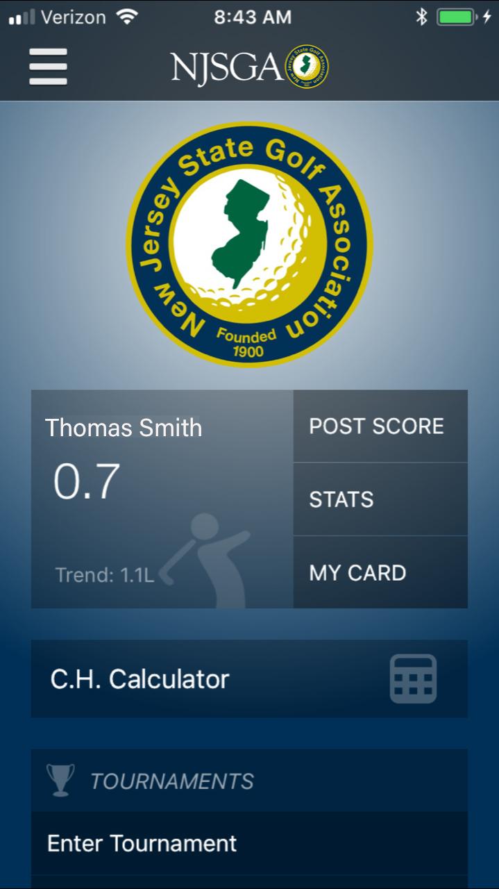 GHIN Mobile App | New Jersey State Golf Association | NJSGA
