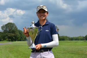 Shao wins 17th Women's Pub-Links Championship