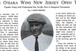 Celebrating the Centennial Open: The 1st Champion, Peter O'Hara