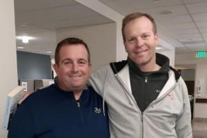 Knickerbocker's Chris Simon and Peter Jordan: The Greatest Gift