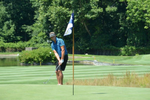 Two-time Open Champion Tyler Hall fires 67; charges to lead in 100th Open at Knickerbocker