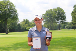 Carolina Andrade Medals, Three Others Qualify for the 121st U.S. Women's Amateur