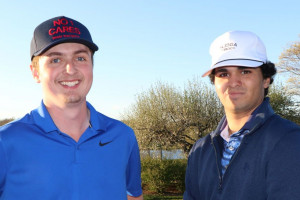 Gallagher, Lostumbo fire a three-under-par; win medal in Four-Ball Qualifying