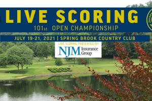Live Scoring - 101st Open Championship at Spring Brook CC