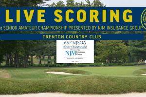 Live Scoring - 63rd Senior Amateur Championship presented by NJM Insurance Group