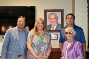 John B. Murray Honored in NJSGA Conference Room and Portrait Dedication