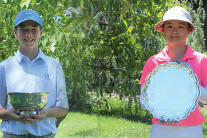 Pasternak Defends W.Y. Dear Boys Championship; Zang Wins Girls' Championship in a Playoff
