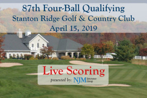 3-Hour Delay today for NJSGA Four-Ball Qualifying at Stanton Ridge