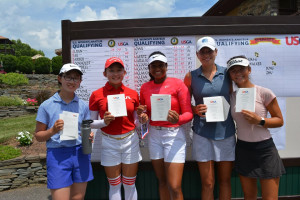 Ganne continues stellar season; is co-medalist at U.S. Women's Amateur Qualifying