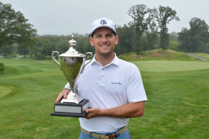 David Sampson of River Vale wins Men's Public Links Championship at Galloping Hill