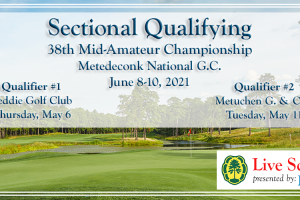 Live Scoring: 38th Mid-Amateur Qualifying, Metuchen G. & C.C.