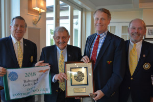 Baltusrol, Echo Lake honored by Caddie Scholarship Foundation