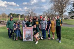 Junior Champion Bush plays 108 holes for Charity