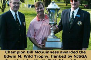 Mcguinness Captures NJSGA Amateur Championship