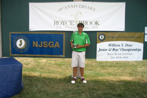 First Time Winners At Junior & Boys' Championships