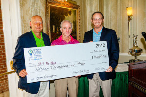 Bill Britton Receives $15,000 As Top Professional In 92nd State Open