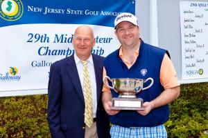 Brian Komline Wins Mid-amateur; First To Claim NJSGA Grand Slam