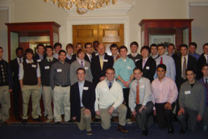 Caddie Scholars Gather For Social Event