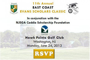 11th Annual East Coast Evans Scholars Classic Scheduled For June 24th