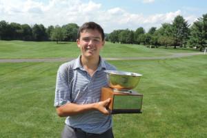Johnny Bush Of Plainfield Wins Junior Championship At Raritan Valley